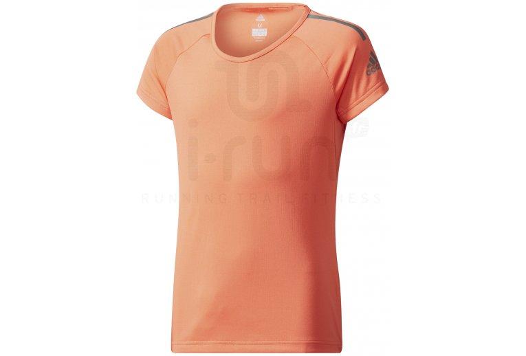 camiseta adidas nina corta