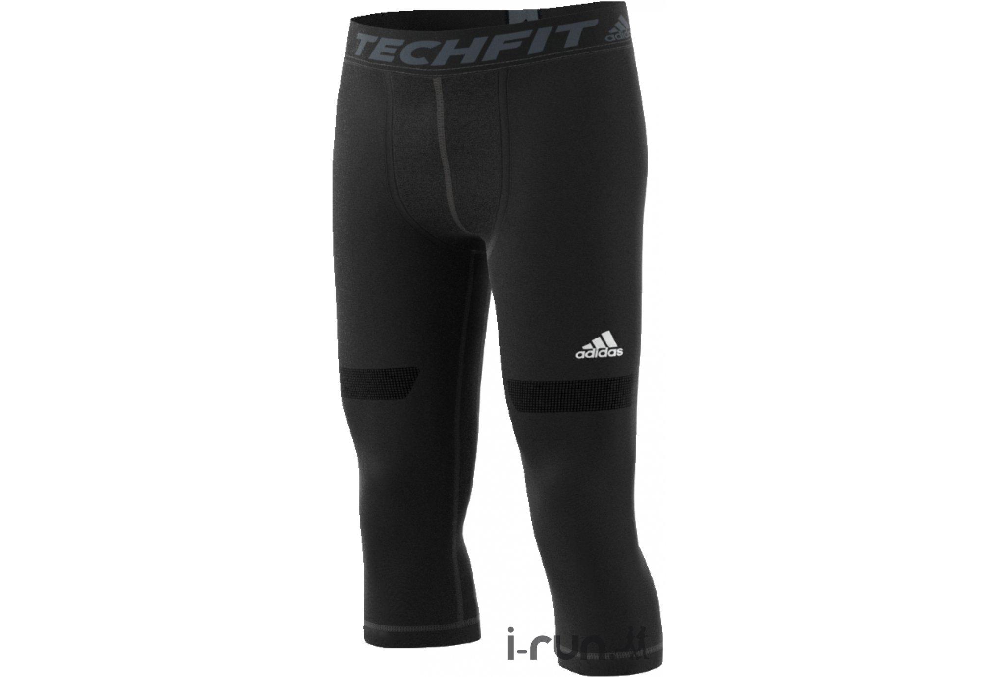 Adidas Collant 3/4 techfit chill m vêtement running homme