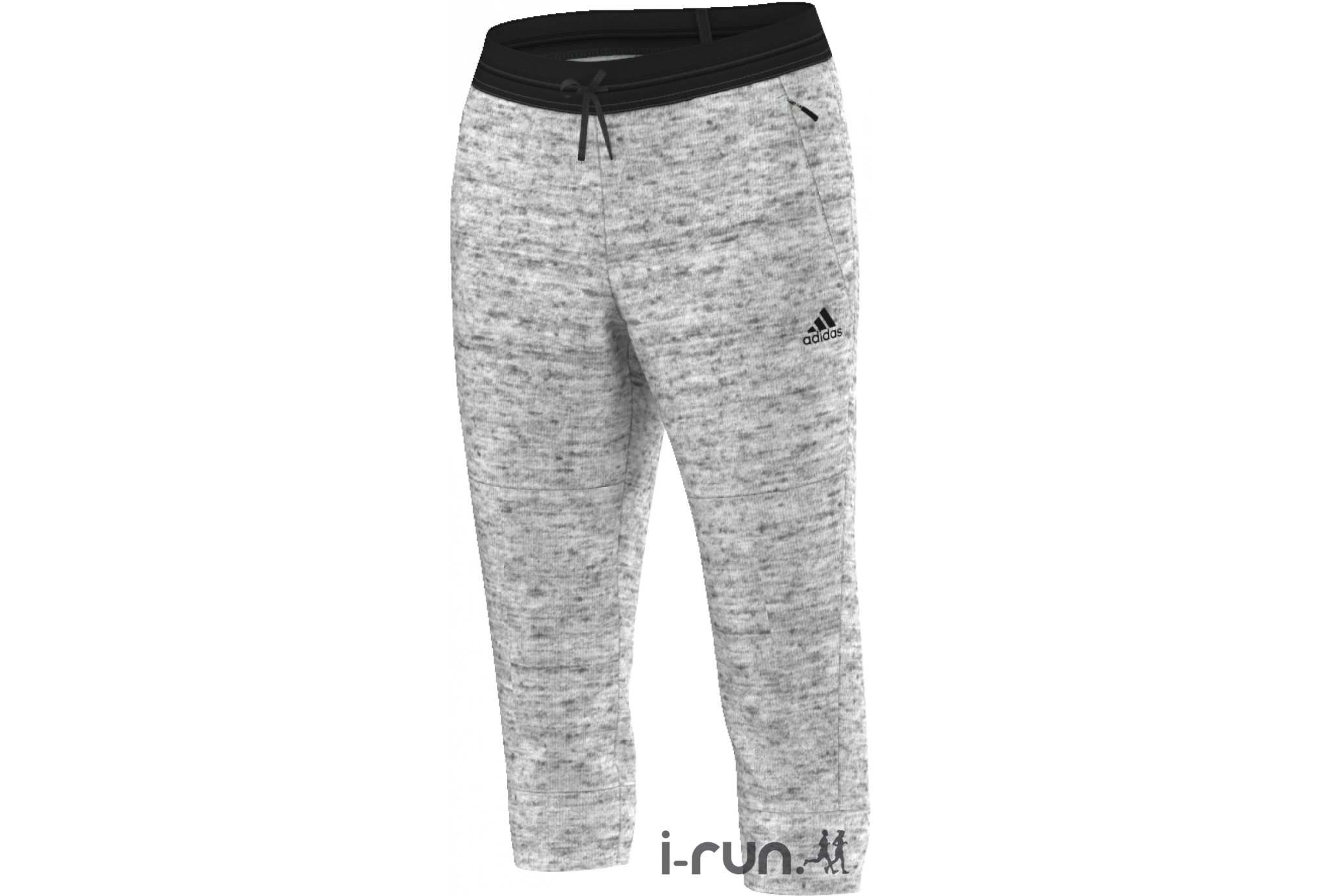Adidas Pantalon 3/4 molleton de coton w vêtement running femme