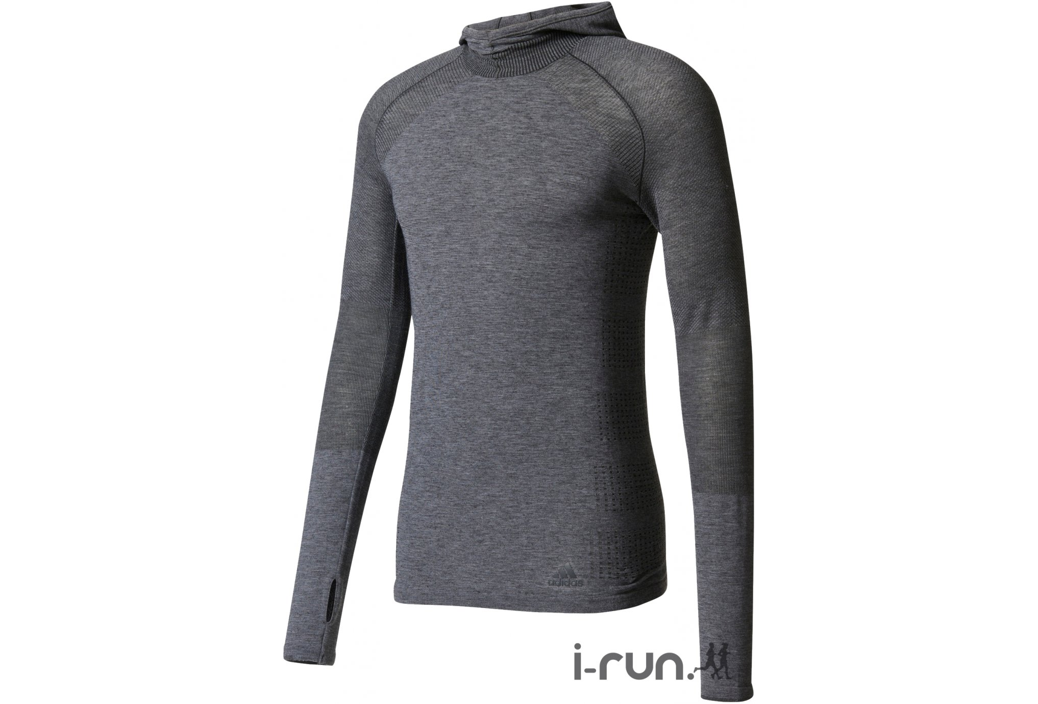 Adidas Primeknit wool hood m vêtement running homme