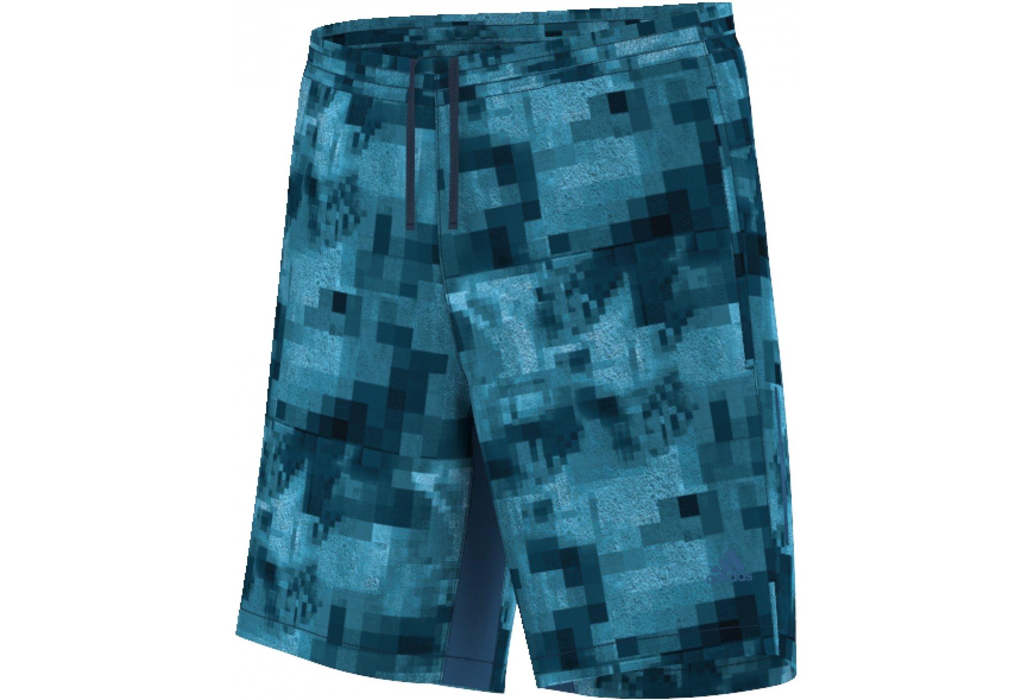 Adidas Short kanoi graphic 7inch m diététique vêtements homme