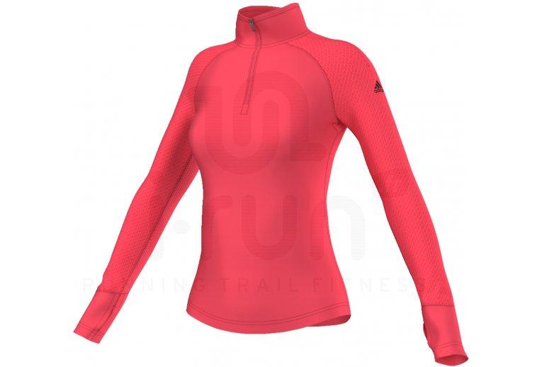 camiseta running mujer manga larga adidas