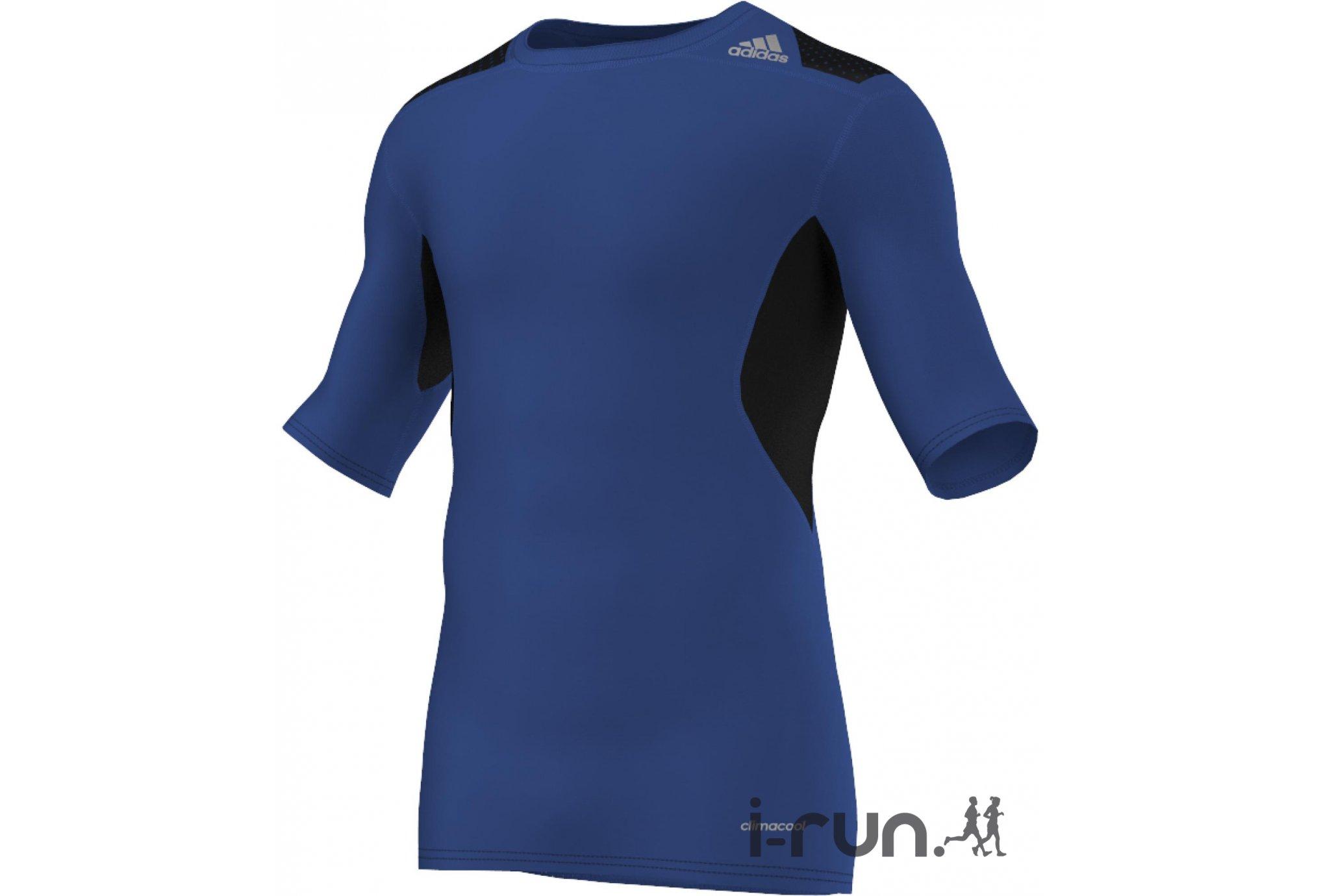 adidas Tee-Shirt Techfit PowerWeb M vêtement running homme
