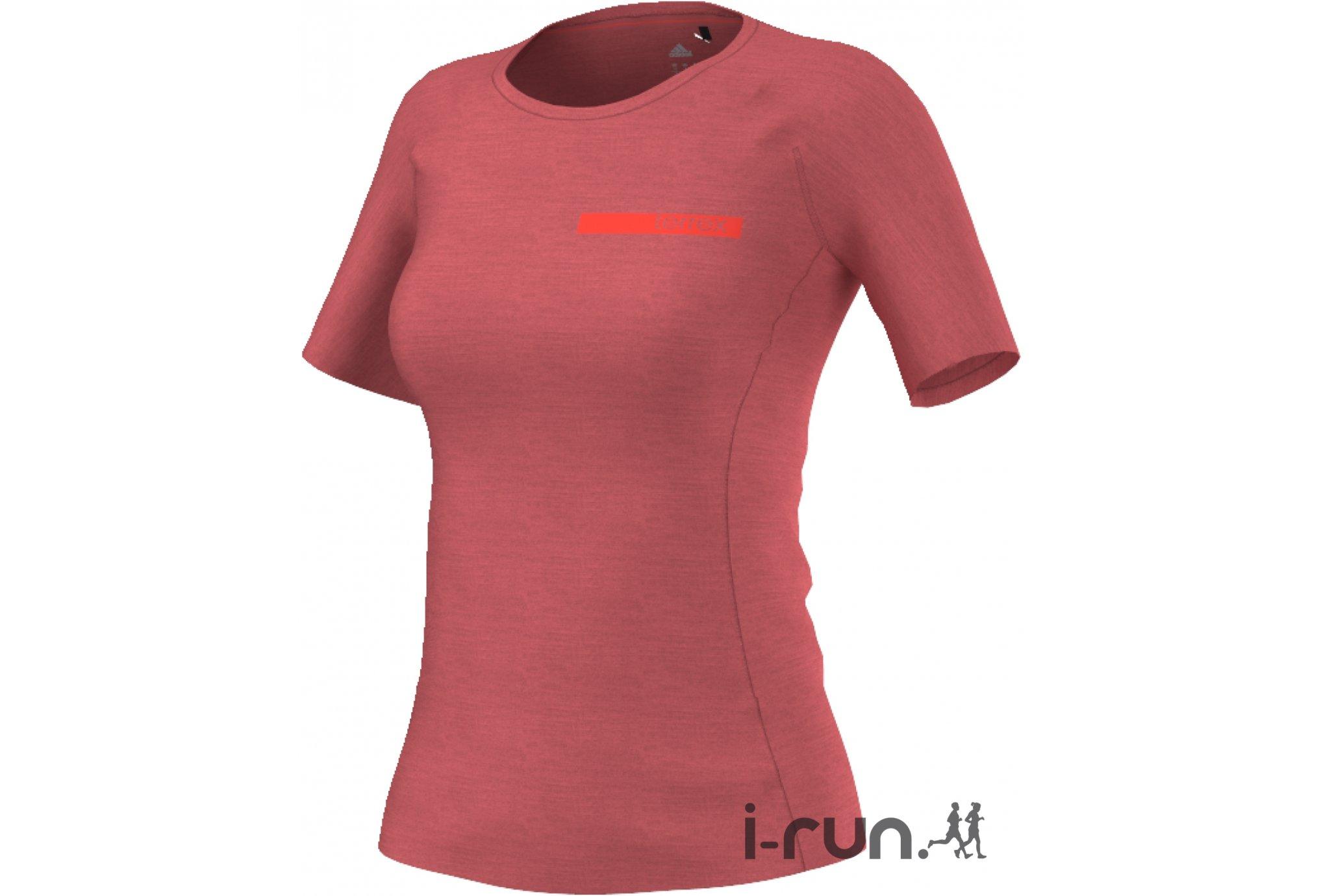 adidas Tee-Shirt Terrex Agravic W vêtement running femme