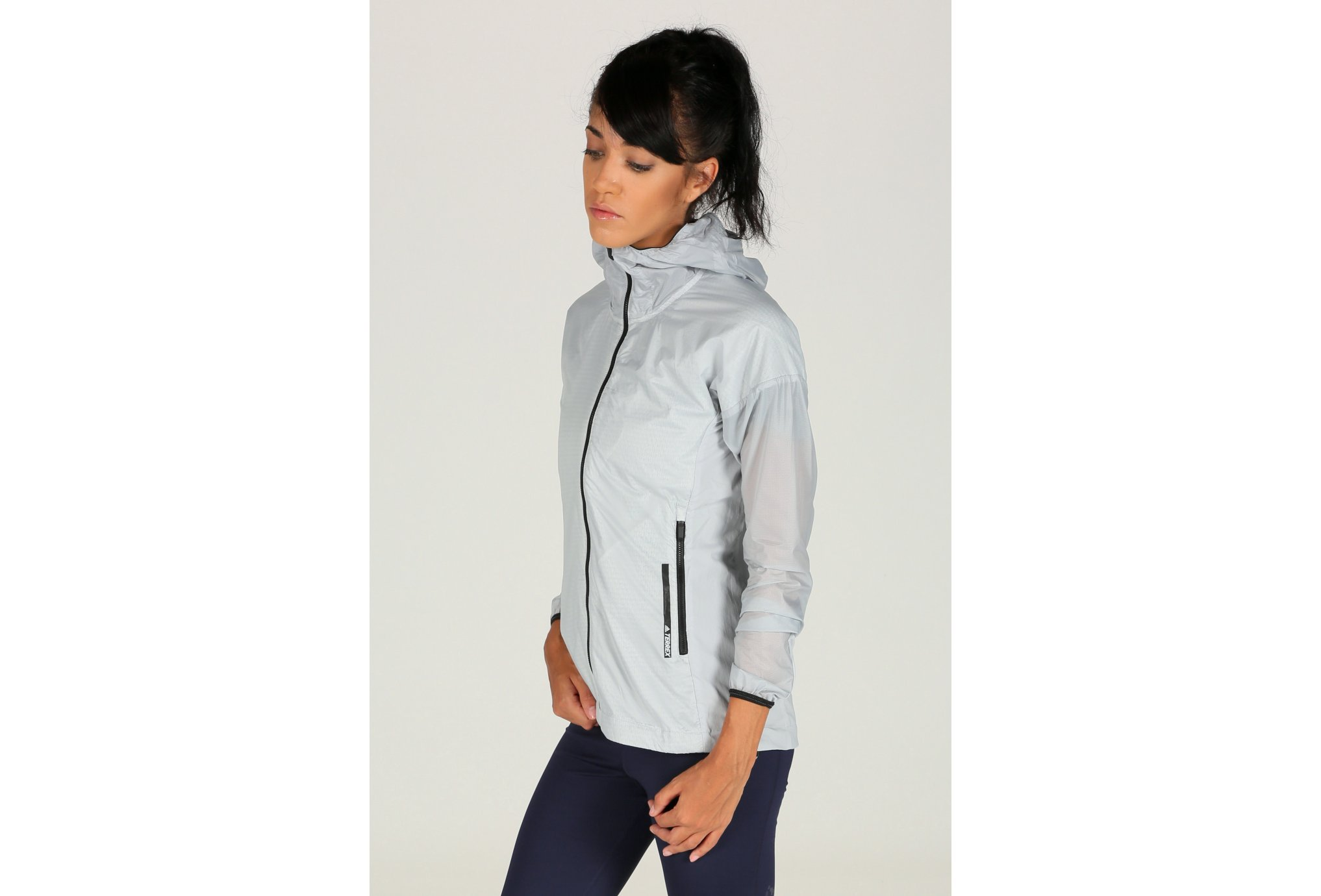 Adidas Terrex agravic alpha hooded shield w vêtement running femme