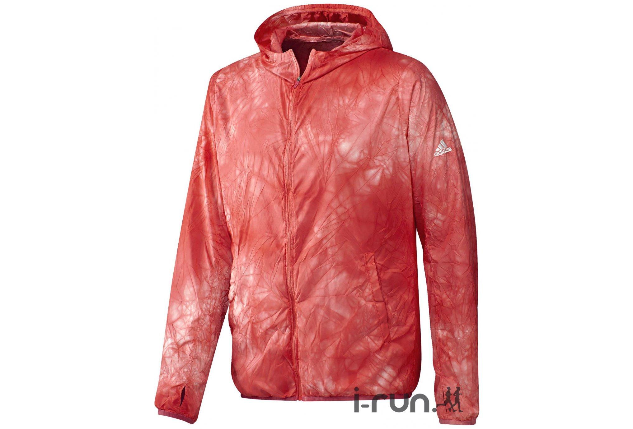 adidas Veste RunPack Dye M Diététique Vêtements homme