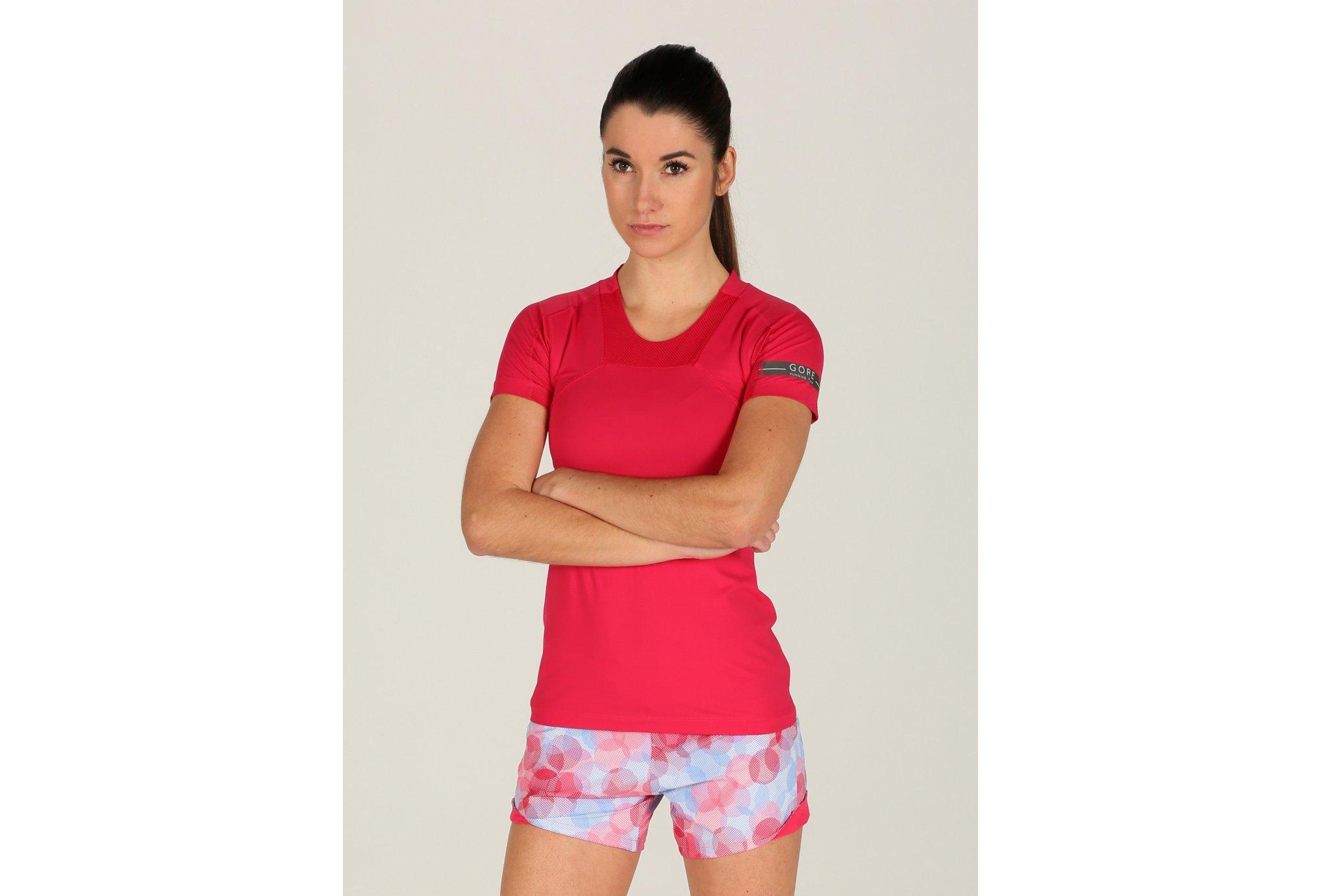 Gore Running Wear Tee-Shirt Air W Diététique Vêtements femme