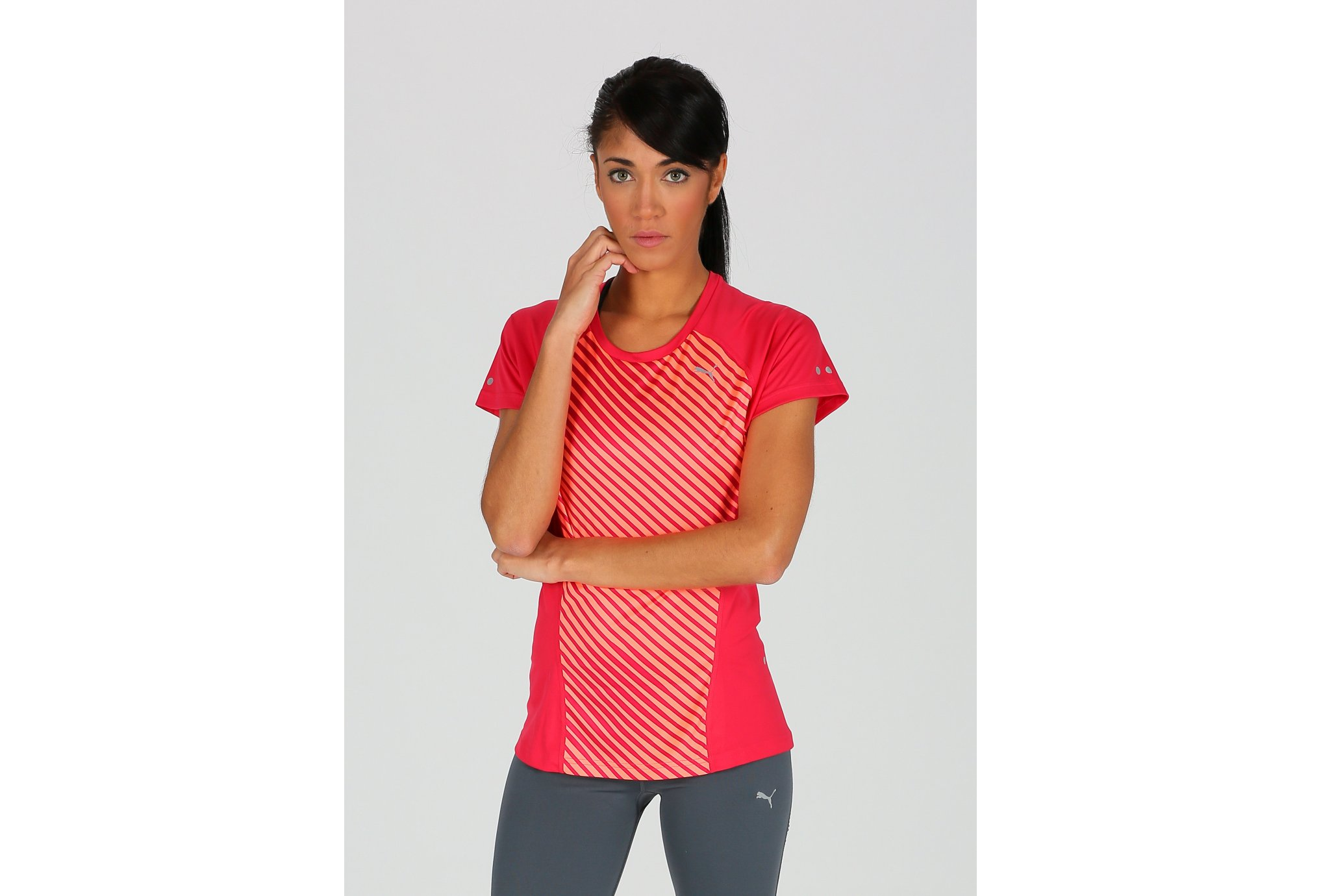 Puma Tee-shirt Running Graphic W vêtement running femme