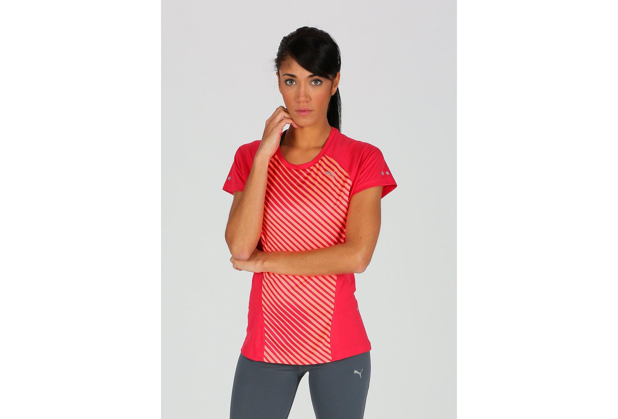 Puma Tee-shirt Running Graphic W vêtement running femme