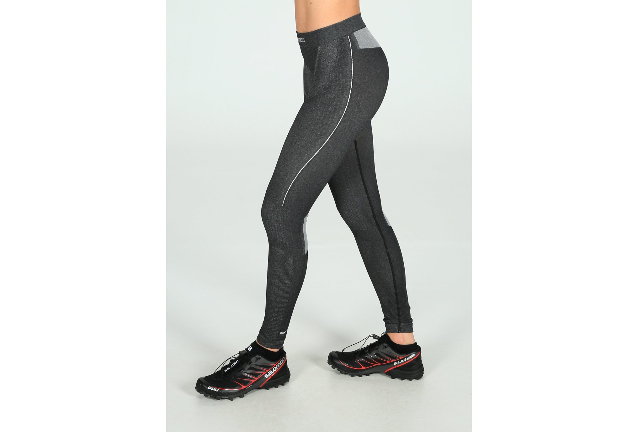 Salomon Primo Warm Tight Seamless W vêtement running femme