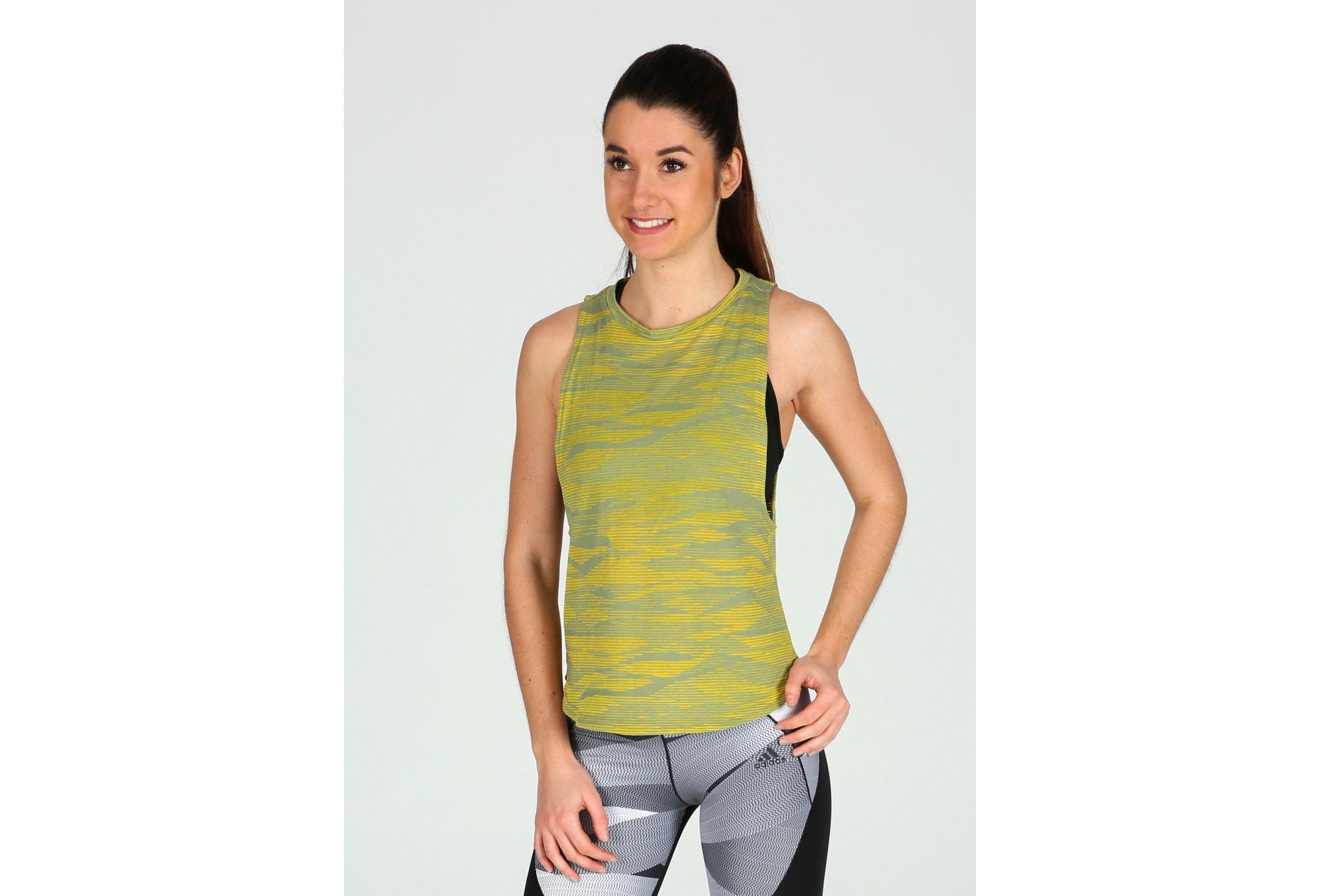 Adidas Boxy deep aeroknit w vêtement running femme