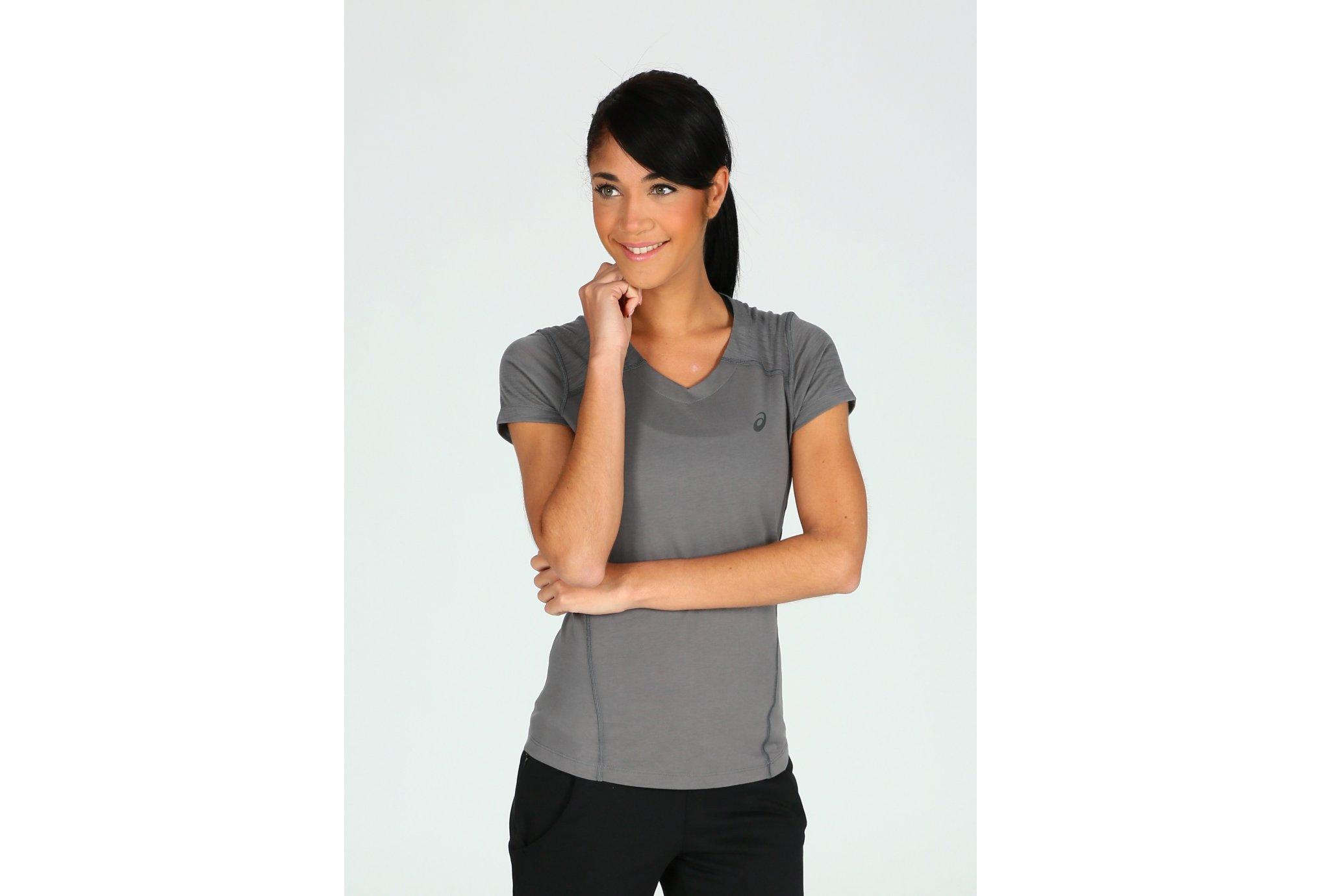 Asics Tee-shirt FuseX W vêtement running femme