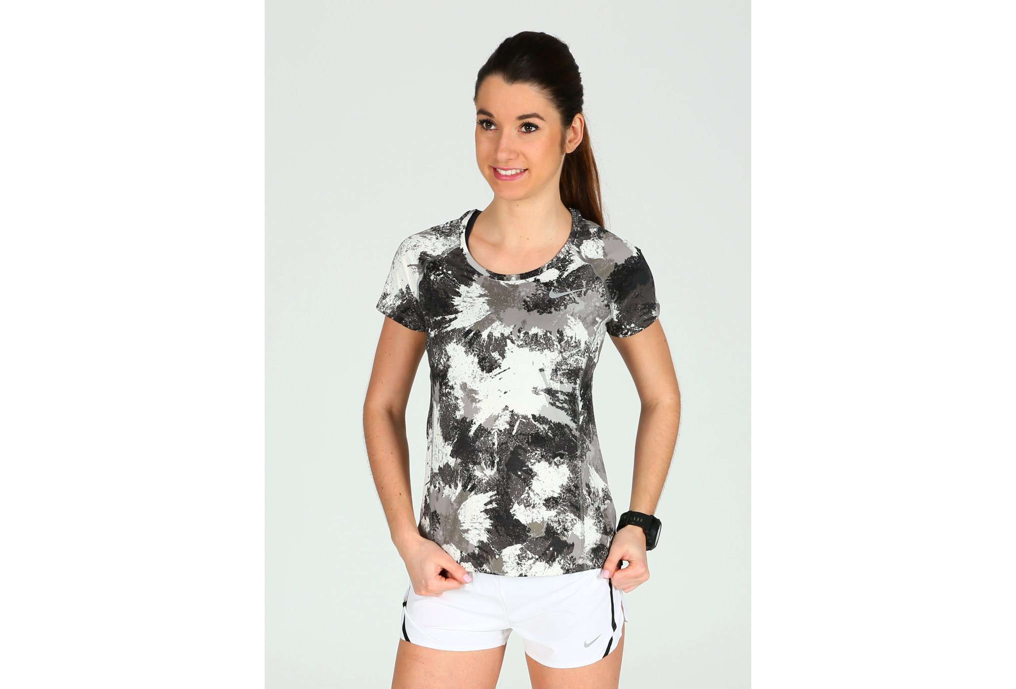 Nike Dry Miler Running Top W vêtement running femme