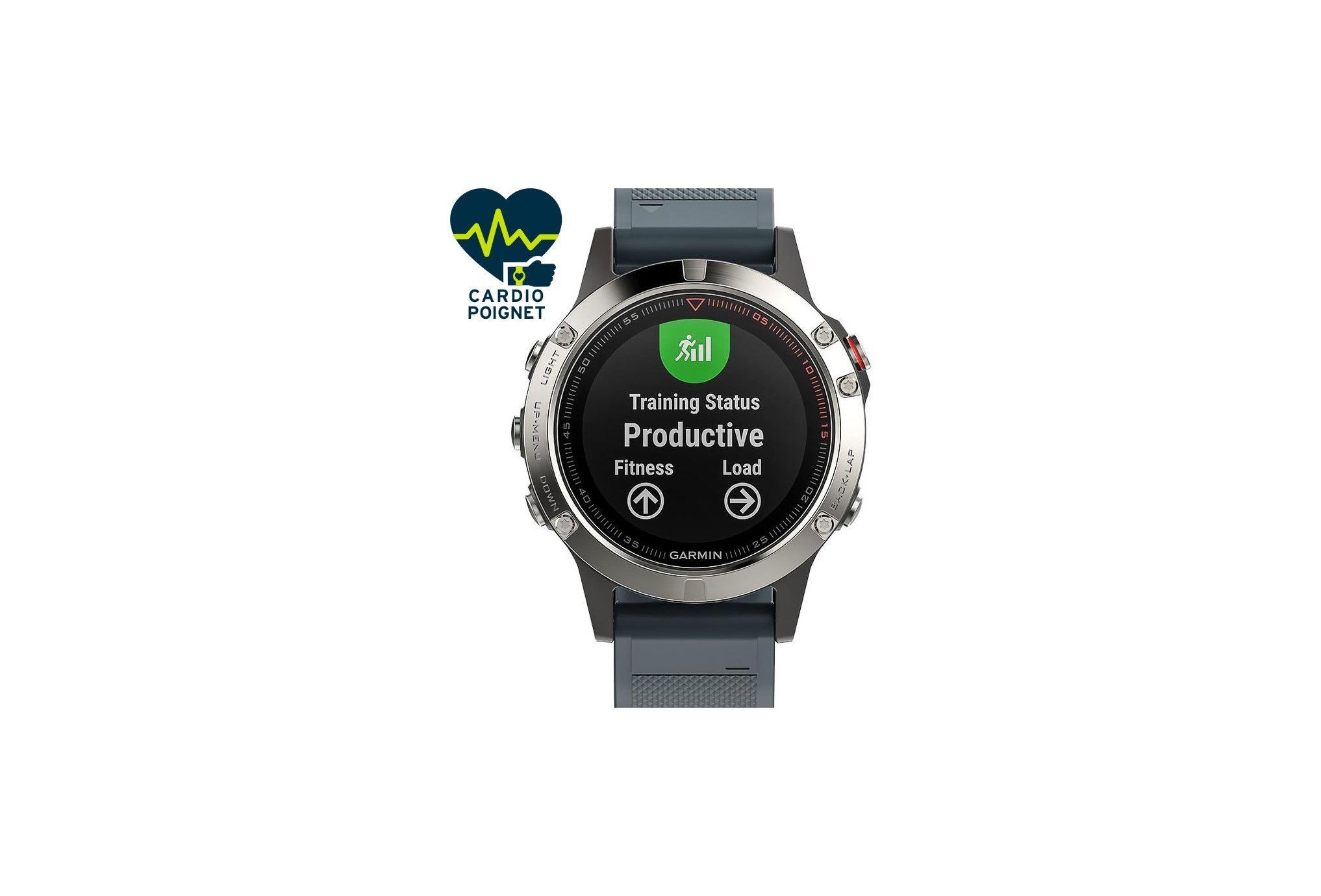 Garmin Fenix 5 GPS Multisports Cardio-Gps