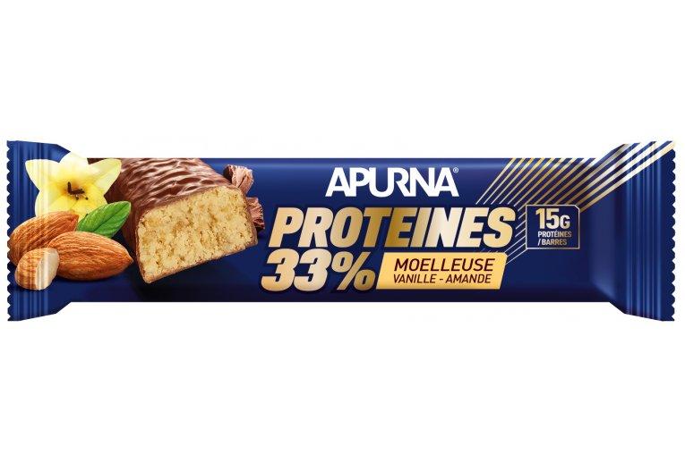 Apurna Barre Protéinée - Moelleuse Vanille Amande