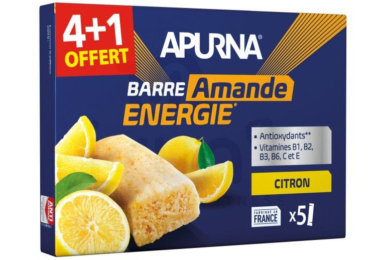 Apurna Étui barres énergétiques Citron/Amande 4+1