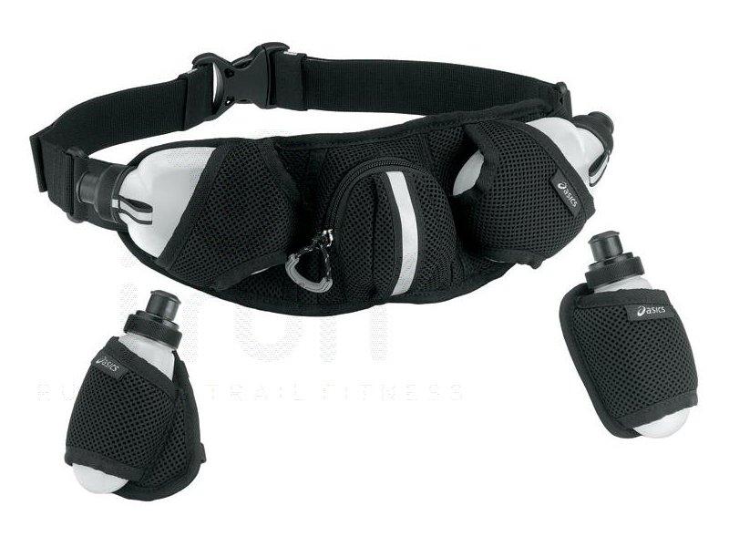 Asics ceinture 4 bouteilles accessoires running sac hydratation gourde asics ceinture 4 - Ceinture porte gourde running ...