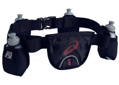 Asics ceinture porte bidons running performance accessoires running sac hydratation gourde - Ceinture porte gourde running ...