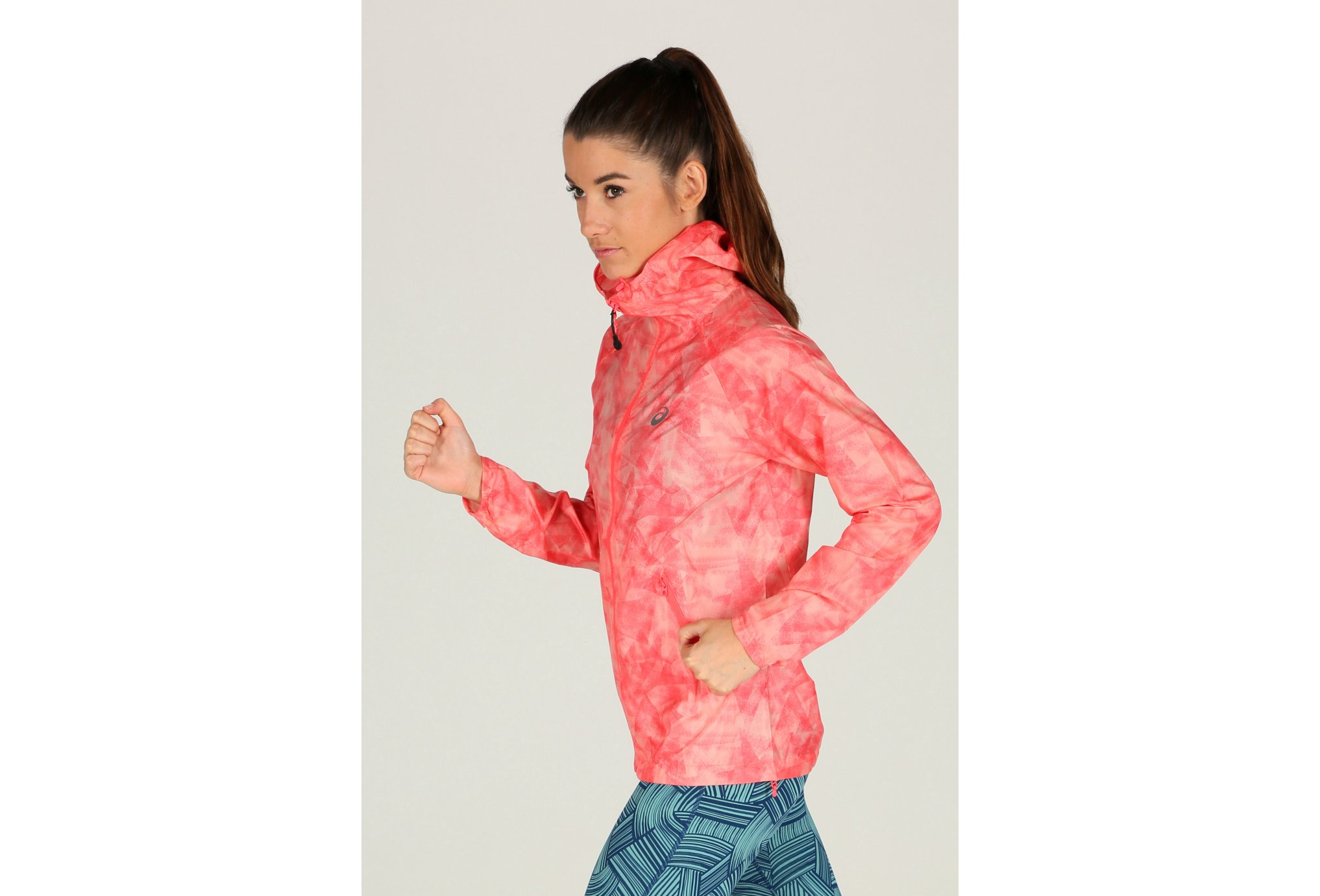 Asics FuzeX Packable JKT W vêtement running femme
