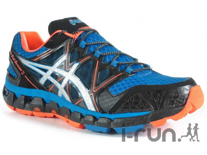 asics gel fuji sensor 2 m pas cher chaussures homme running trail en promo. Black Bedroom Furniture Sets. Home Design Ideas