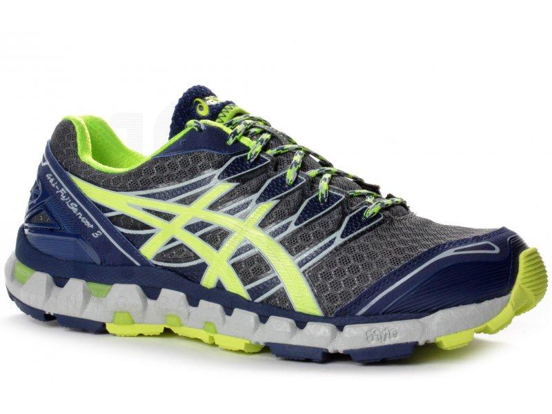 chaussures running asics gel fuji sensor gore tex homme