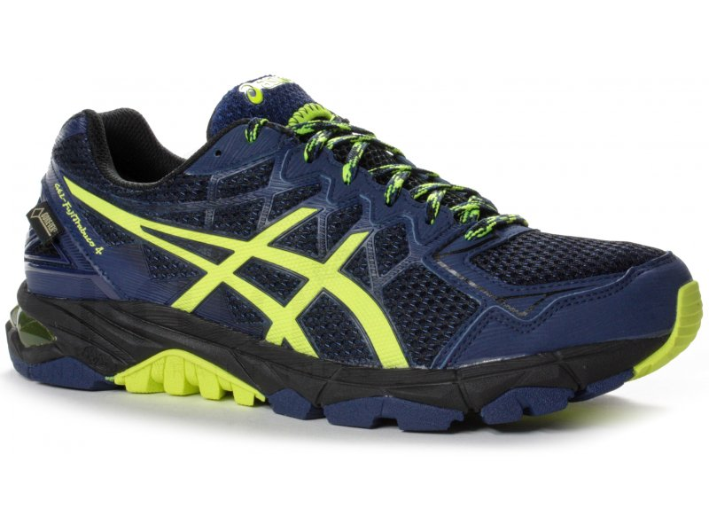 asics gel fujitrabuco 4 gore tex m pas cher chaussures homme running trail en promo. Black Bedroom Furniture Sets. Home Design Ideas