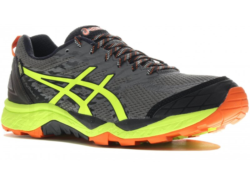 asics gel fujitrabuco 5 gore tex m pas cher chaussures homme running trail en promo. Black Bedroom Furniture Sets. Home Design Ideas