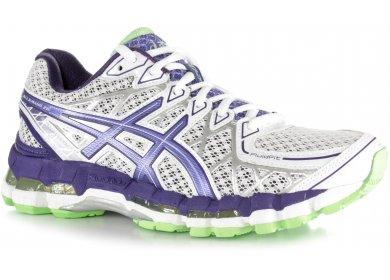 asics gel kayano 20 w pas cher chaussures running femme running - femmes asics gel kayano 20 noir argent