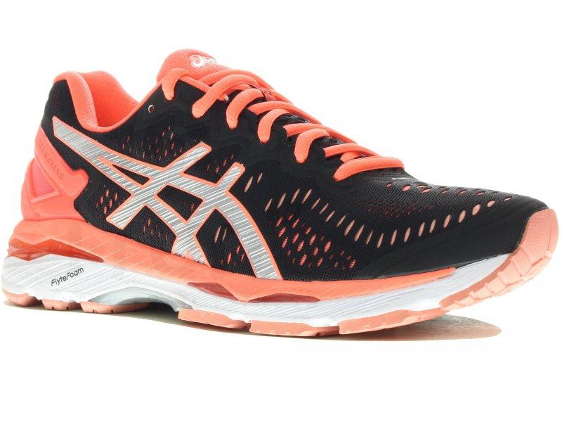 asics gel kayano 23 w pas cher chaussures running femme running route chemin en promo. Black Bedroom Furniture Sets. Home Design Ideas