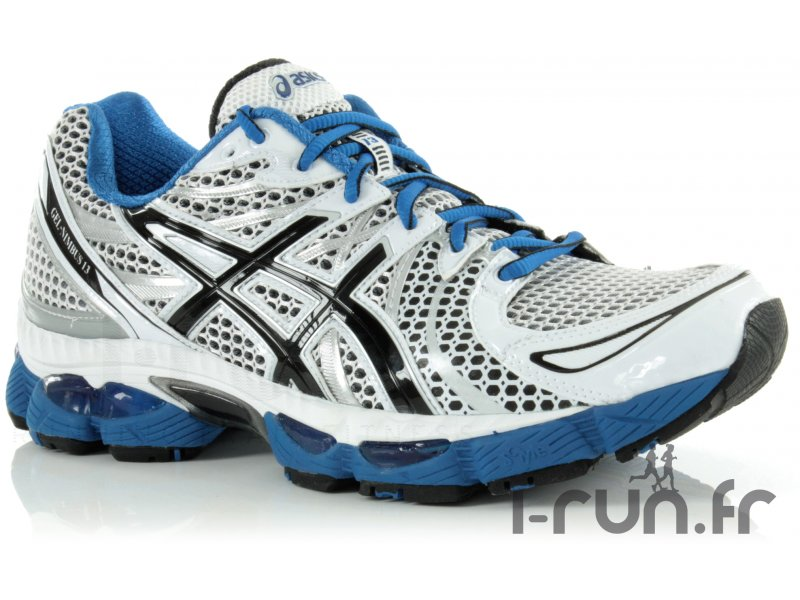 Asics gel nimbus 13 blanche et bleue pas cher destockage running chaussures - Gel aloe vera pas cher ...