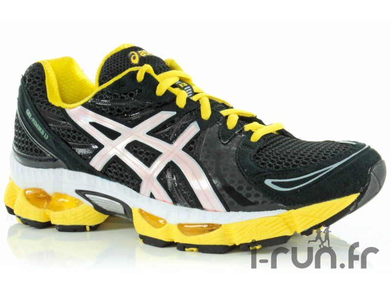 asics gel pulse 12 jaune