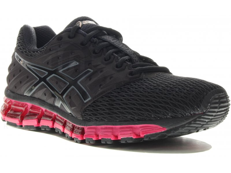asics gel quantum 180 2 w pas cher chaussures running femme running route chemin en promo. Black Bedroom Furniture Sets. Home Design Ideas