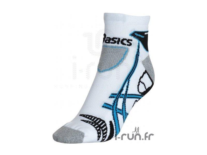 asics kayano sock blanche bleue et noire pas cher accessoires running chaussettes en promo. Black Bedroom Furniture Sets. Home Design Ideas