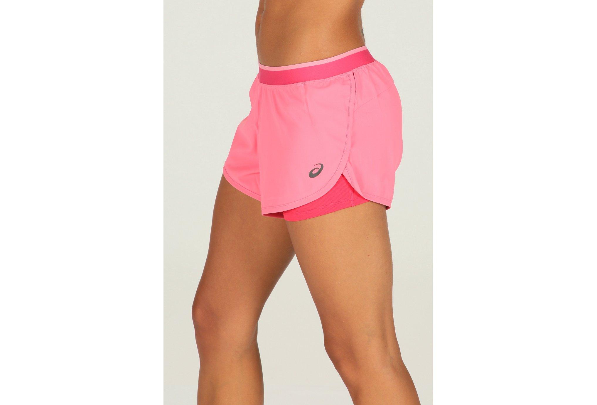 Asics Short 2 en 1 3.5inch W vêtement running femme