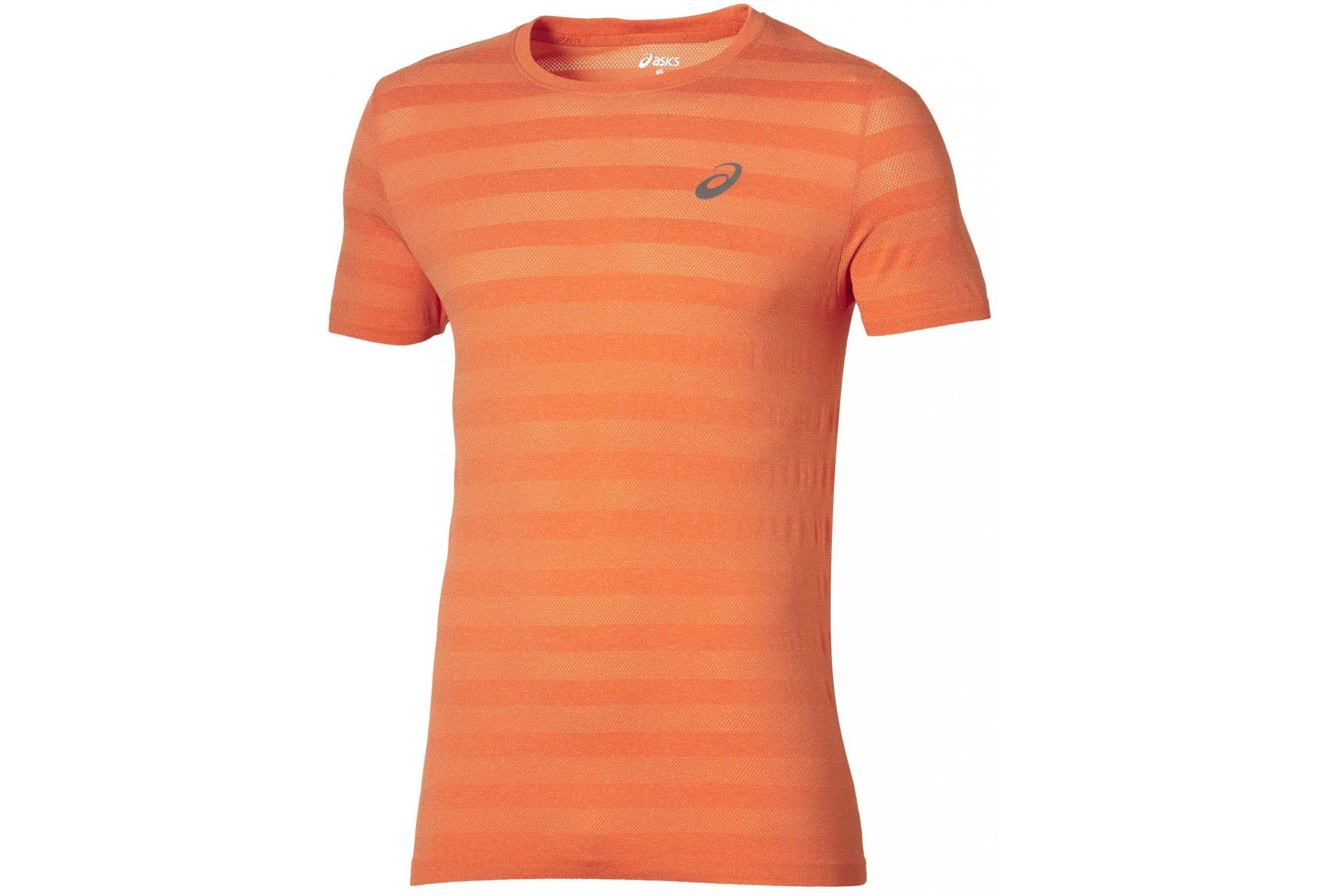 Asics Tee-Shirt FuzeX Seamless M Diététique Vêtements homme
