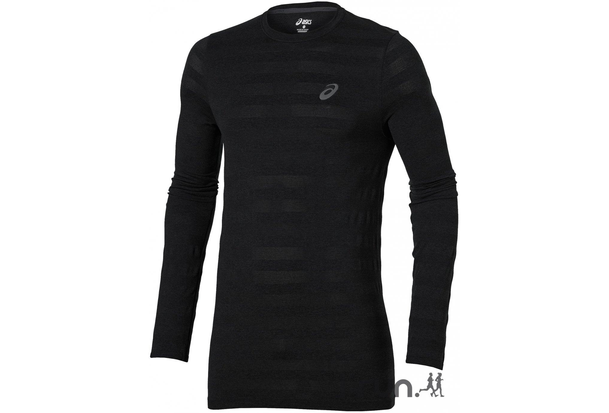 Asics Tee-Shirt LS Seamless M vêtement running homme
