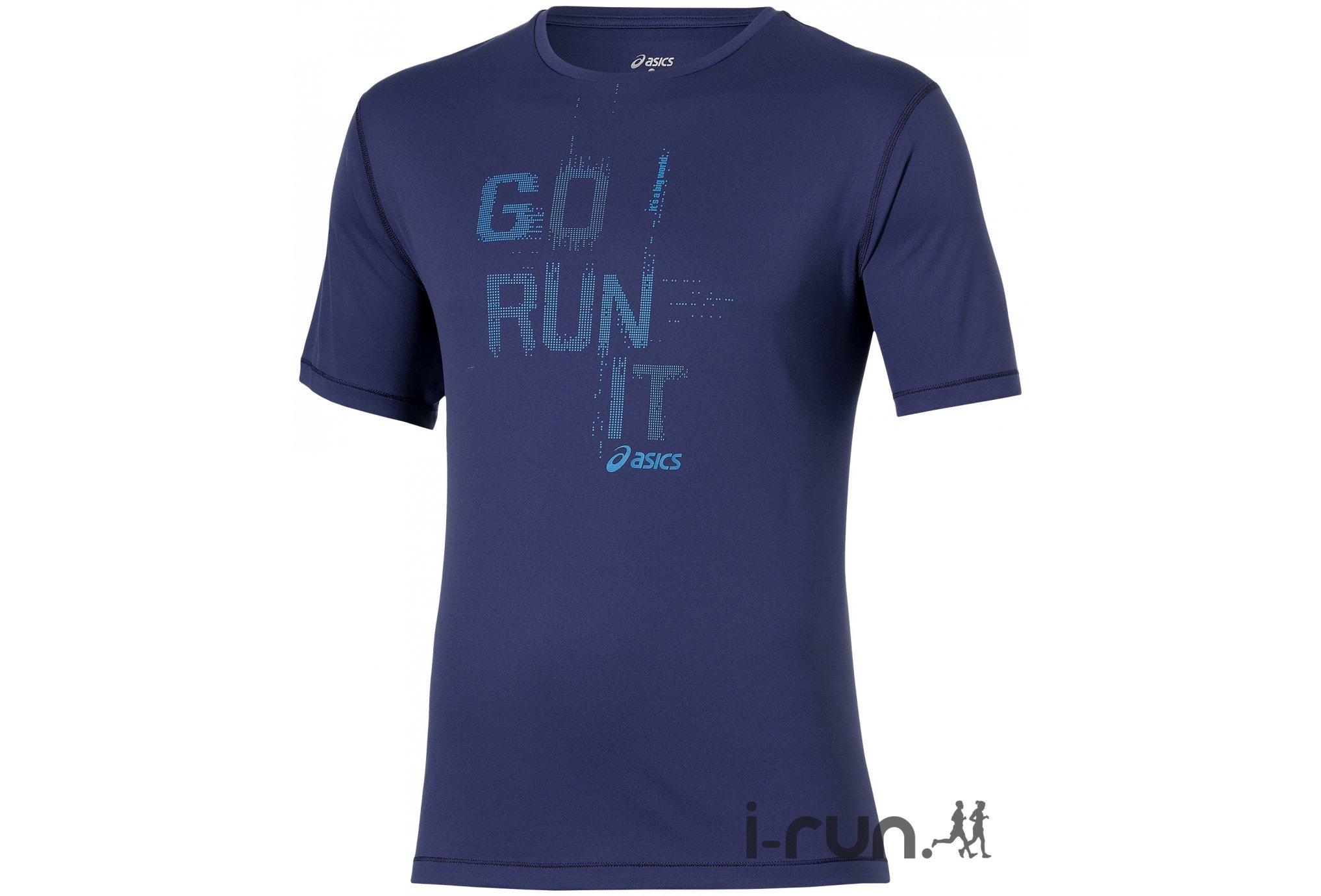 Asics Tee-shirt Running M vêtement running homme