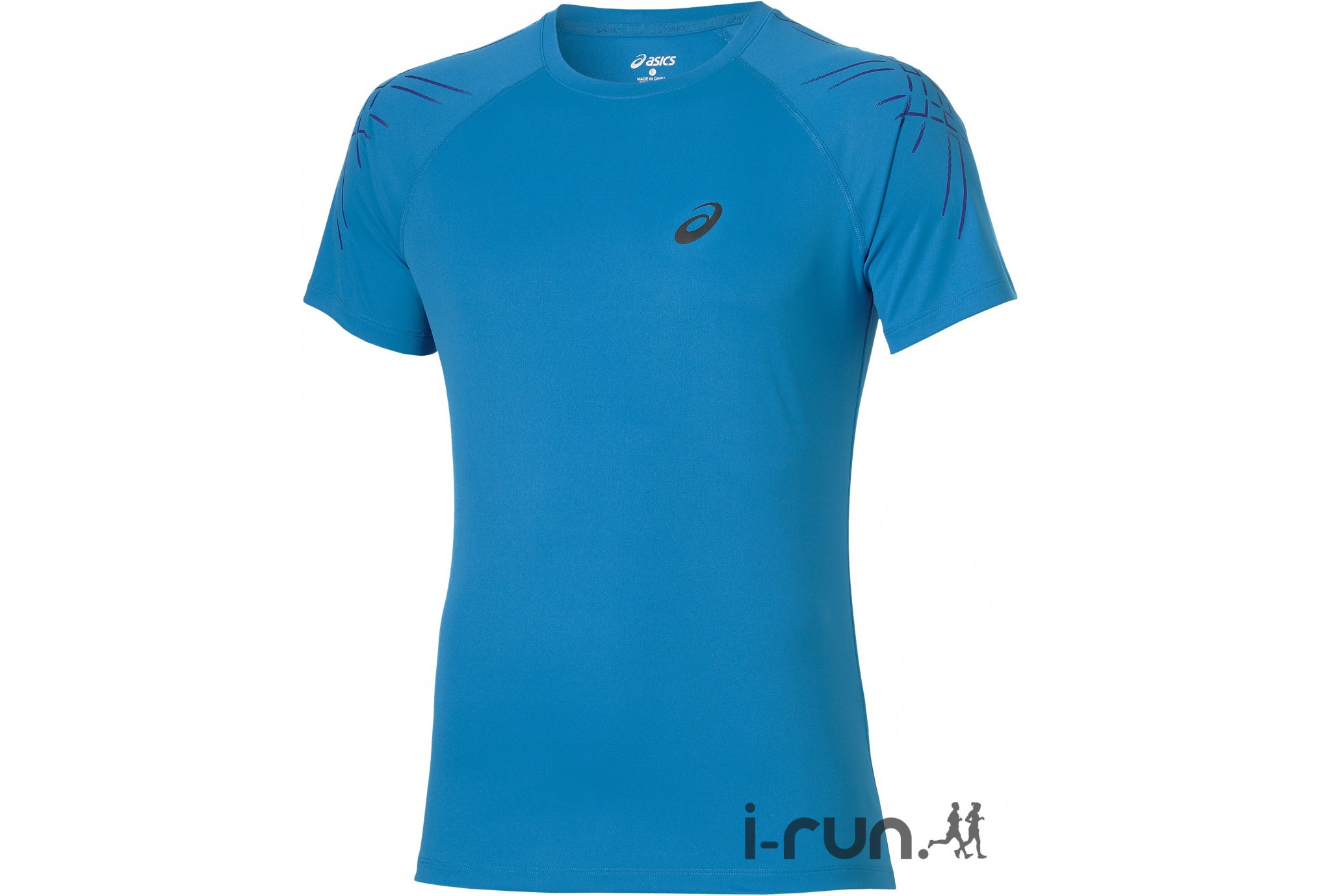 Asics Tee-shirt Stripe Top M vêtement running homme
