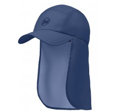 Buff Bimini Cap Solid Navy
