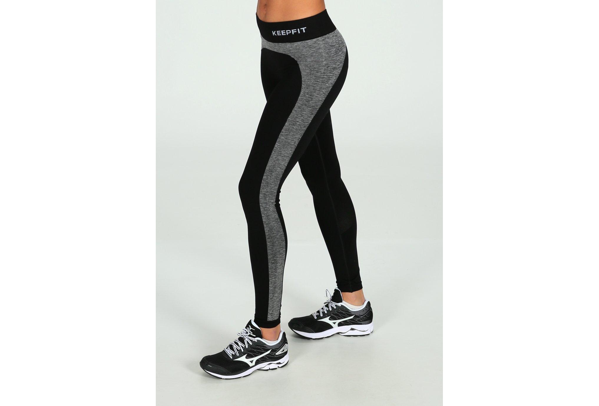 Trail Session - BV Sport Legging KeepFit W vêtement running femme 0fbc13002e56
