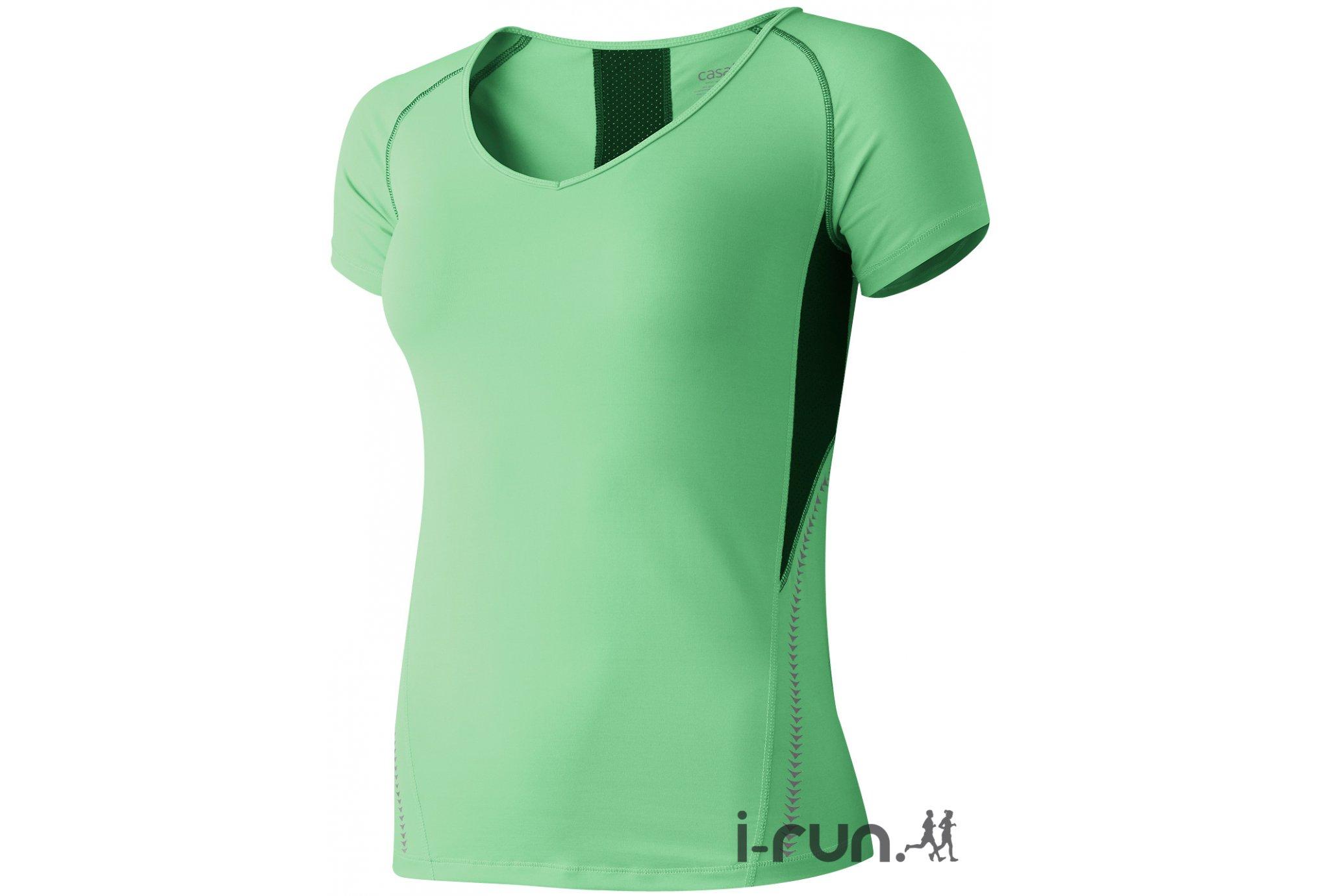 Casall Tee-shirt Swift W Diététique Vêtements femme