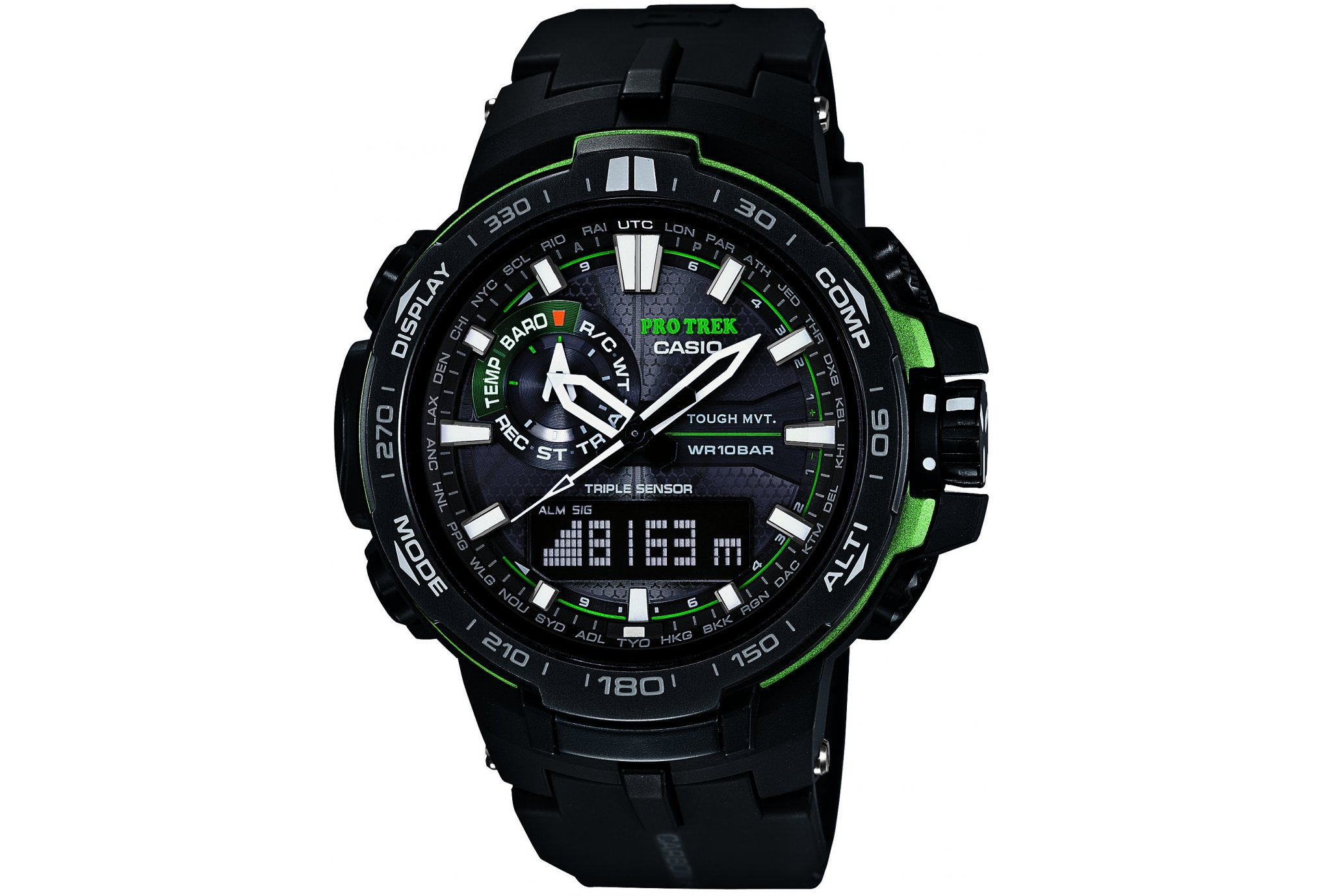 Casio Pro trek prw-6000y montres de sport