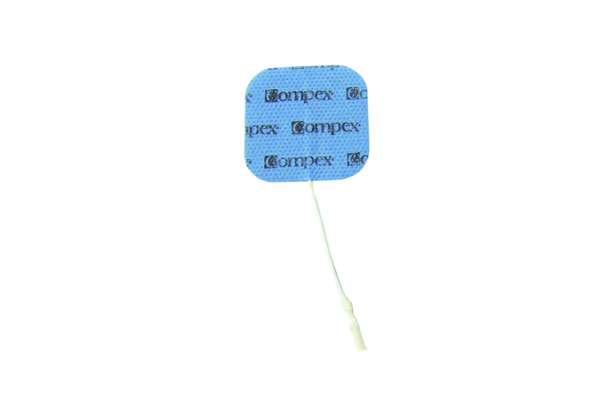 Compex Electrodes de rechange 5*5cm Electrostimulateur