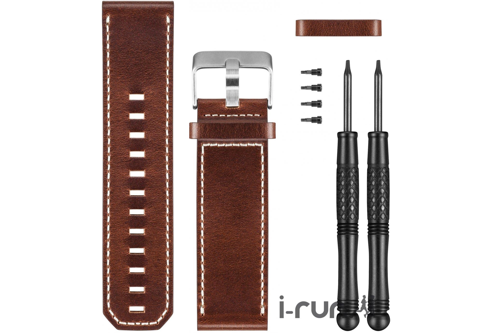 Garmin Bracelet de montre en cuir pour fenix 3 accessoires montres/ bracelets