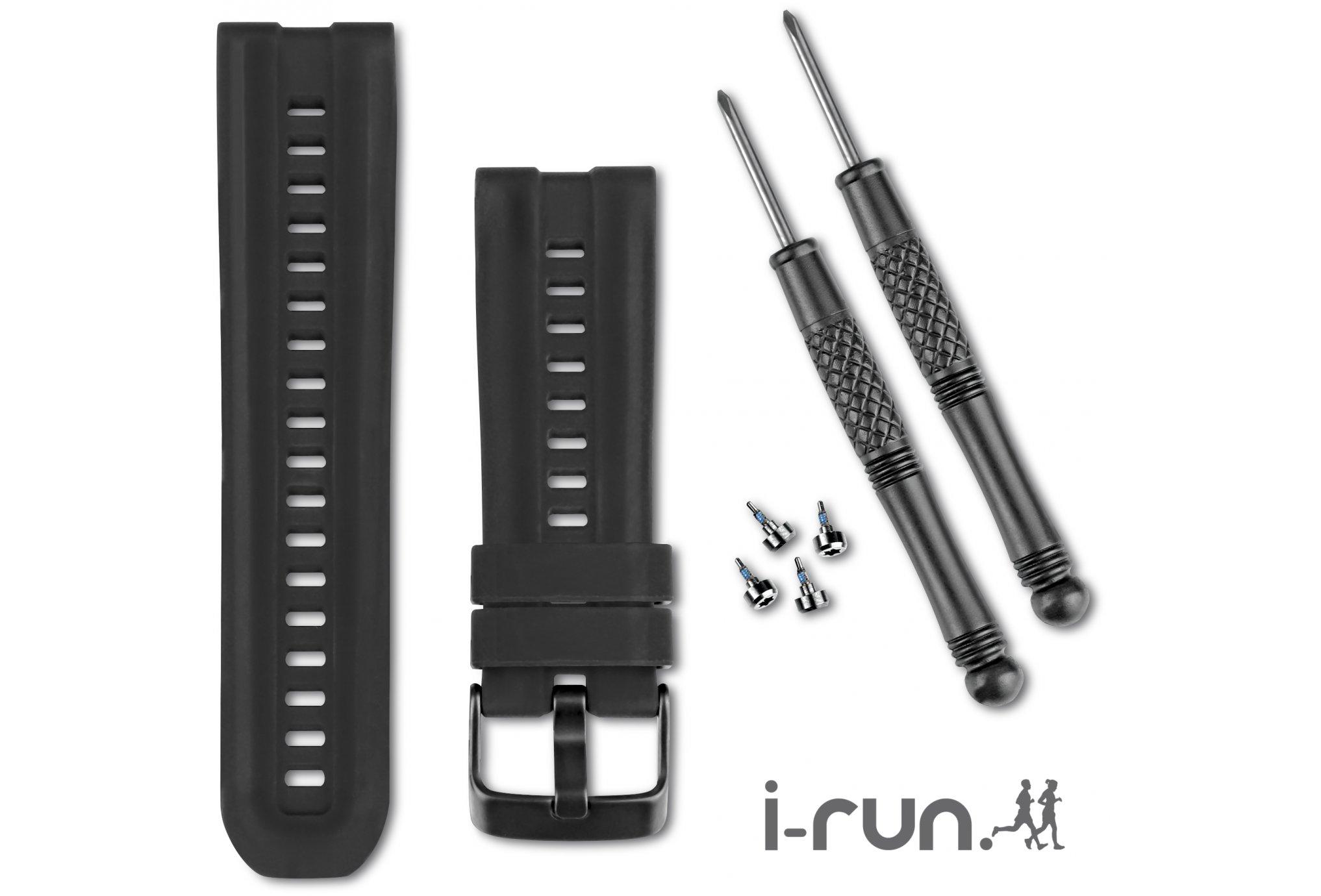 Garmin Bracelet de montre gps+abc en silicone accessoires montres/ bracelets
