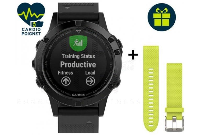 Garmin Reloj Fénix 5 Sapphire GPS Multisports
