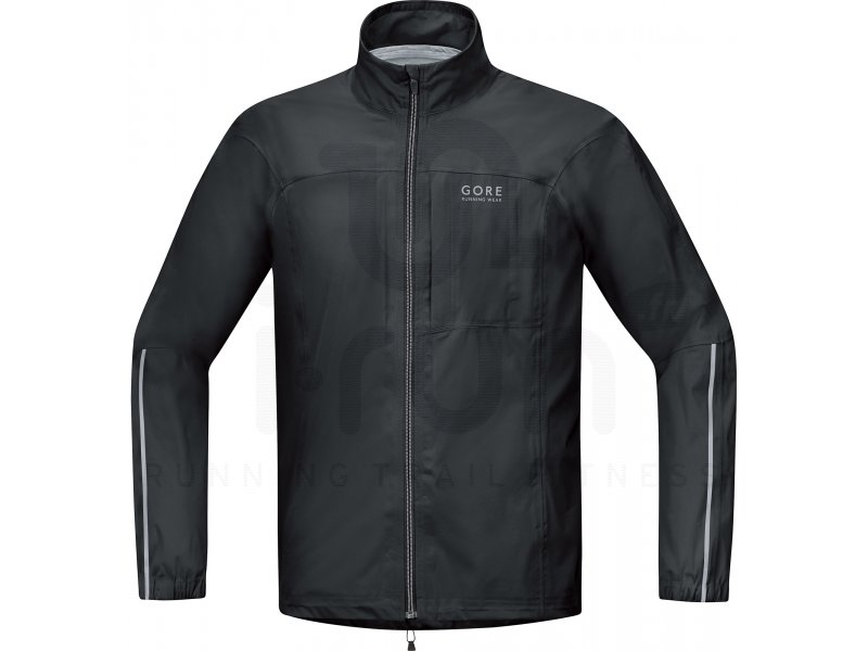 gore running wear veste essential gore tex active m pas cher v tements homme running vestes. Black Bedroom Furniture Sets. Home Design Ideas
