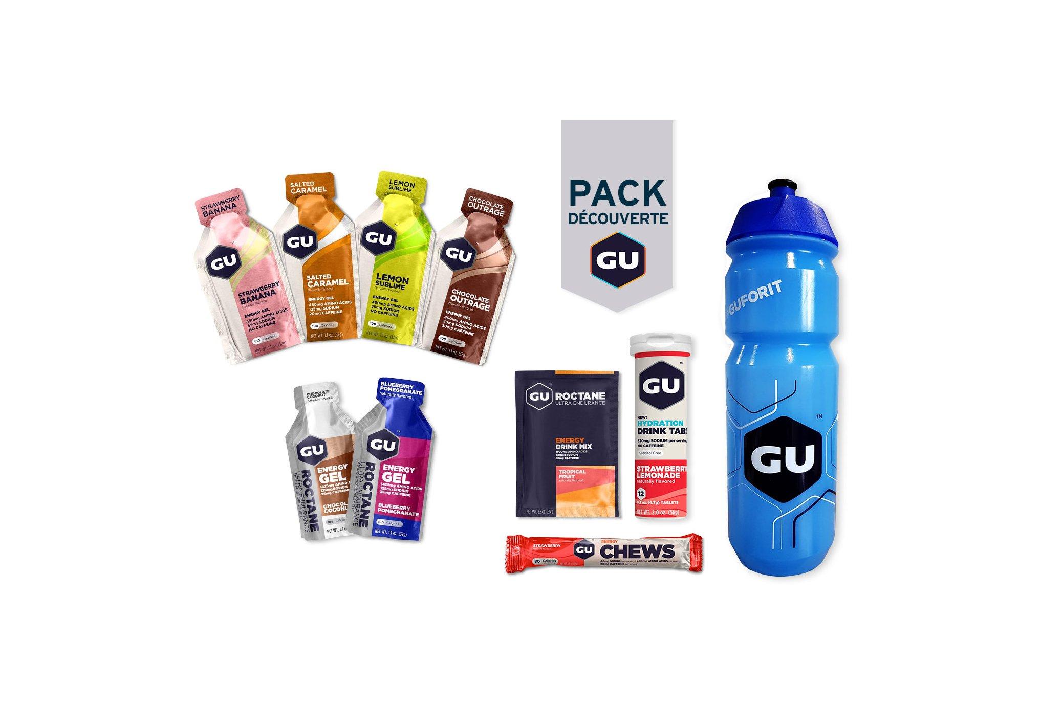 GU Pack Découverte Diététique Packs