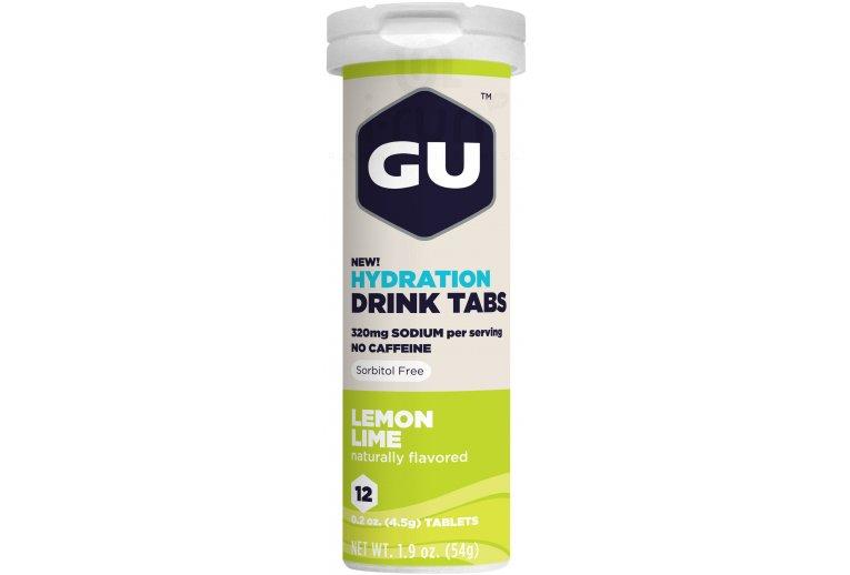 GU Tablettes Hydratations Drink - Citron vert