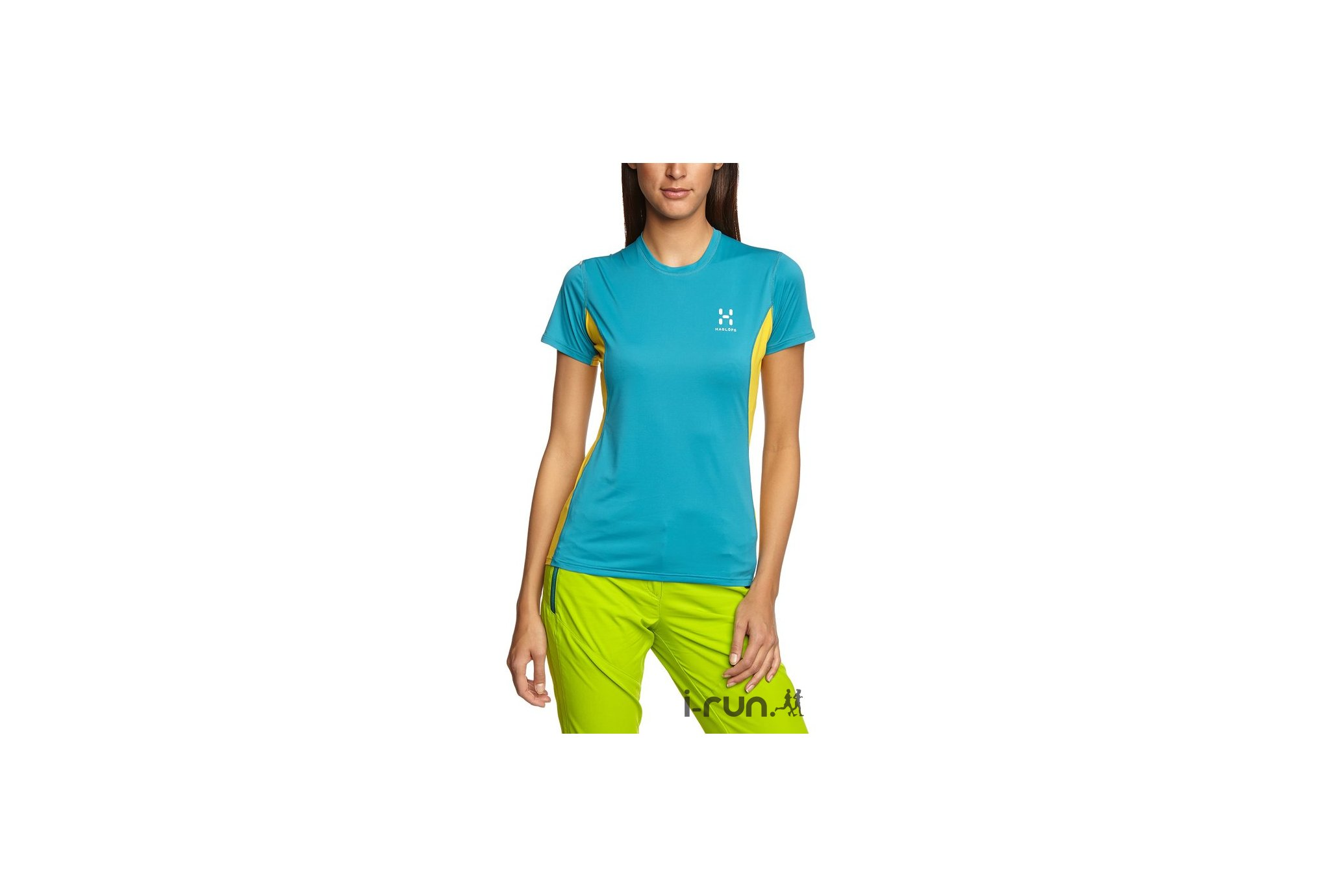 Haglöfs Tee-shirt L.I.M W Diététique Vêtements femme